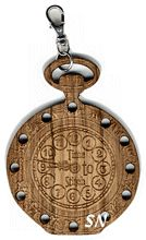 Wooden Time to Stitch Watch Wooden Thread Palette -- click here to see more!