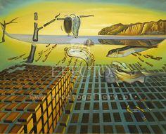 Salvador Dali - Dezintegracja uporczywości pamięci
