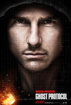 It's rare that I look forward to a Tom Cruise film - Mission Impossible: Ghost Protocol
