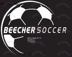 soccer t shirt designs | Soccer Logos and Designs for T-Shirts