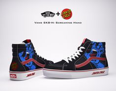 Vans & Santa Cruz Skateboards Collaboration on Behance