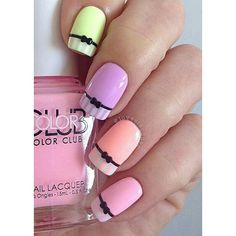 32 Cute Nail Art Designs for Easter ❤ liked on Polyvore featuring beauty products, nail care, nail treatments, nails and beauty