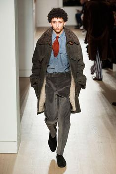 DUNHILL    - THE SHEARLING COAT