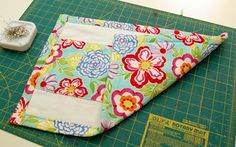 easy, cute burp cloths from A Feathered Nest