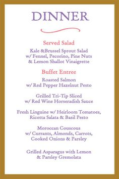 23 best event menu design images on pinterest bat mitzvah menu