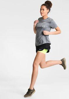 Nike Performance RIVAL - kurze Sporthose - black/volt/reflective silver  für 44,95 € (15.08.17) versandkostenfrei bei Zalando bestellen.