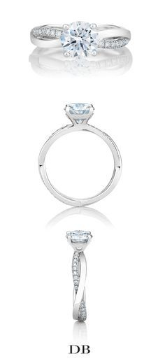 De Beers Infinity Engagement Ring in Platinum  Inquiries - Allana Miller: amiller@debeers.ca