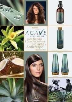 Il trattamento Agave trasforma il capello da ruvido e crespo a liscio e morbido. Le molecole di zucchero della pianta di agave trattengono le molecole di acqua nella corteccia dei capelli e vi si legano per una idratazione che dura nel tempo.