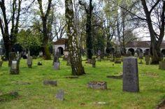Lapidarium, an unique necropolis in Kożuchów, western Poland. 200 historical gravestones from the 17th – 19th century.