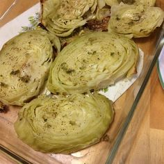 """Cabbage Steaks 