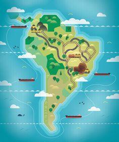 Linha Direta GBB - América do Sul - Oliven Studio