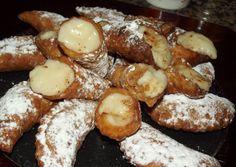 Bartolillos of fried dough with pastry cream, Madrid Recipes