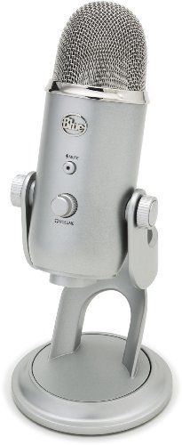 Blue Microphones Yeti USB Microphone - Silver Edition. From #Blue Microphones Price Too low to display