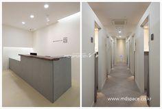  유희승한의원 예산 유희승 한의원 인테리어. *기획디자인_(주)엠디스페이스/김보경 과장 /02)3445-2837,... Hospital Design, Clinic Design, Dental, Bathtub, Space, Home, Interiors, Standing Bath, Floor Space
