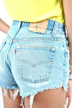 I will own a pair of Levi high waisted shorts by this summer