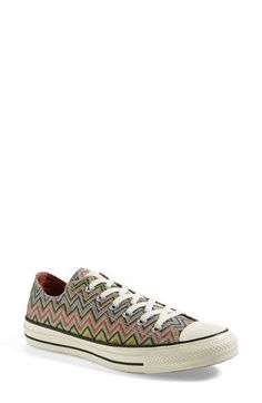 Converse x Missoni Chuck Taylor® All Star® Low Sneaker (Nordstrom Exclusive Color)(Women) available at #Nordstrom