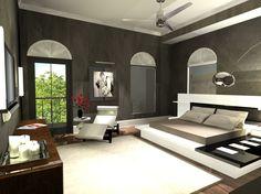 Final Rendering of Master Bedroom