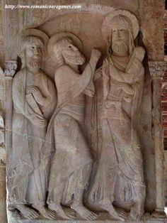 Relieves romanicos del Monasterio de Silos,Burgos