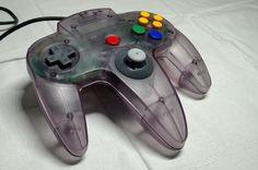 Nintendo 64 N64 Atomic Purple Controller Official Authentic OEM NUS-005 TESTED #Nintendo