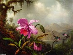 Resultado de imagen para oleo sobre tela orquideas
