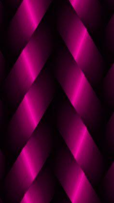 Black & Pink Ribbon Wallpaper... By Artist Unknown...