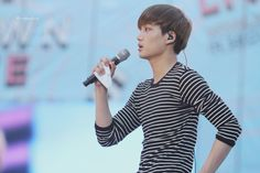 Kai - 140815 SMTown Live World Tour IV in Seoul Credit: Black Toe Shoes.