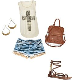 """""""College Clothes 6"""" by dylanelise on Polyvore"""
