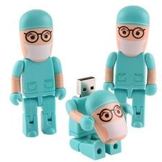 Pendrive Médico - Tomá un poco de tu propia medicina! Ideal para hacer un regalo original y divertido. Capacidad: 8 Gb. Precio: $220