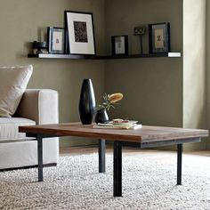 Niagra counter table rectangle by gus modern