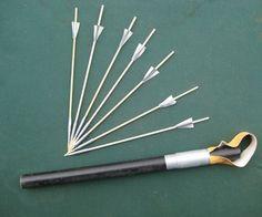 Rubber Powered Dart Launcher & Darts
