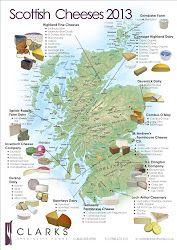 Clarks Speciality Foods Scottish Cheese, Scottish Dishes, Scottish Cuisine, Scottish Recipes, Irish Recipes, Scottish Tours, Scotland Map, Scotland Travel, Scotland Food