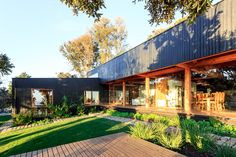 Image 7 of 34 from gallery of Las Escaleras Country House / Prado Arquitectos. Photograph by Daniel Pinilla Prado, Clear Lake, Home Reno, Residential Architecture, Creative Home, Cozy House, Chile, House Design, House Styles