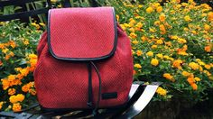 HANDMADE BACKPACKHANDWOVENsummer baggenuine by HandwovenByT