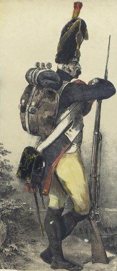 Regimiento de Granaderos de la Guardia de Jose Bonaparte. España 1812