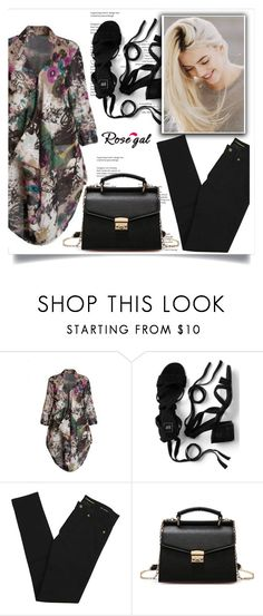 """""""Rosegal contest!"""" by amrafashion ❤ liked on Polyvore featuring Yves Saint Laurent"""