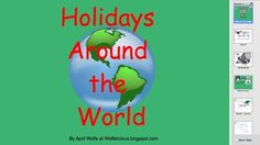 Smartboard Holidays Around the World  $