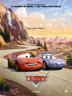 Cars - Motori ruggenti - Un film di John Lasseter. Con Owen Wilson, Paul Newman, Bonnie Hunt, Larry The Cable Guy, Cheech Marin.  Titolo originale Cars. Animazione, Ratings: Kids, durata 112 min. - USA 2006.