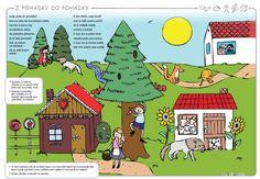 Pracovní sešit pro děti mladšího předškolního věku v NOVÉM VYDÁNÍ na školní rok 2017/2018 Worksheets, Fairy Tales, Comics, Kids, Young Children, Boys, Fairytail, Literacy Centers, Children