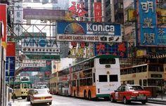 Congested streets... longing to be back on Lantau Island - Hong Kong.