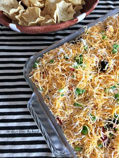 This may just be your new favorite layered bean dip -- it's addicting and delicious and different!