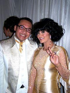 With Krisdayanti