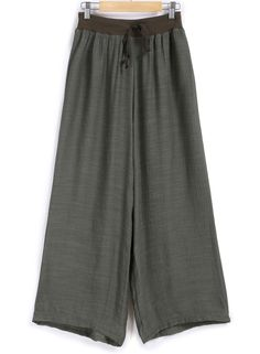 Elastic Waist Drawstring Wide Leg Pant 9.90