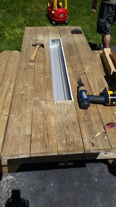 How To Build A Picnic Table With Attached Benches Diy