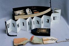 Boat Box - Three Books, Two Baskets by Inga Hunter. Two-layered box showing all the books.