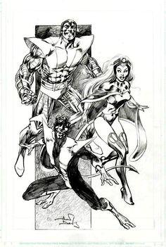 The  X-Men by Alan Davis