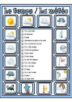 weather board game have students play in pairs or small groups to 1 describe the weather 2. Black Bedroom Furniture Sets. Home Design Ideas