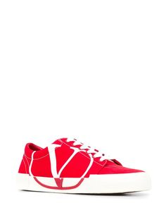 Valentino Valentino garavani tricks sneakers in White Sneakers For Sale, High Top Sneakers, Valentino Sneakers, Valentino Garavani, Red And White, Converse, Heels, Shopping, Fashion