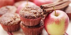 Take advantage of fall with these apple harvest muffins. They're less than 100 calories each! Total Time: 28 min. Prep Time: 10 min. Cooking Time: 18 min.