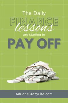 The DAILY Finance Lessons are Starting to Pay Off. Finally, all the daily lessons I've taught my three boys are starting to kick in. Money Saving Meals, Money Savers, Debt Snowball Spreadsheet, Show Me The Money, Three Boys, Smart Women, Get Out Of Debt, Crazy Life, Budgeting Finances