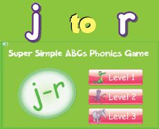 Free online phonics games for kids from Super Simple ...